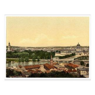 Potsdam, allgemeine Ansicht, Berlin, Deutschland Postkarte