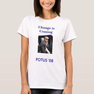 POTUS '08, Änderung kommt T-Shirt
