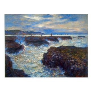 Pourville durch Claude Monet Postkarten