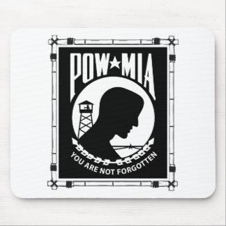POW/MIA Rechteck-Bambus-Rahmen Mousepad
