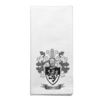 Powell-Familienwappen-Wappen Serviette
