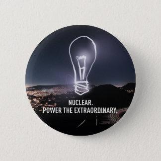 Power der außerordentliche Knopf Runder Button 5,7 Cm