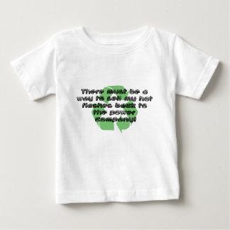 Power der heißen Blitze… Baby T-shirt