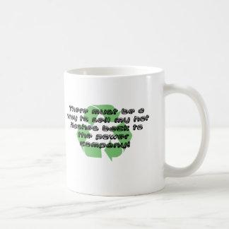 Power der heißen Blitze… Kaffeetasse