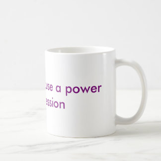 Power-Pumpe Kaffeetasse