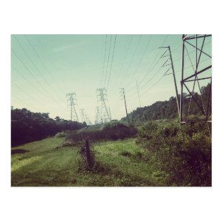 "POWER u. NATUR ""der Weg "" Postkarte"