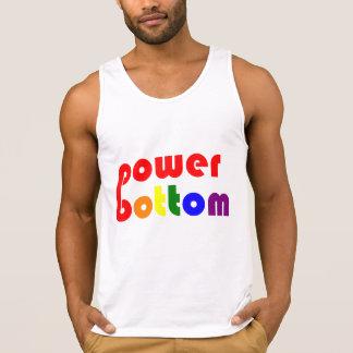 Power unterer homosexueller Pide Regenbogen Tank Top