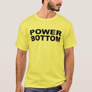 Power-unterer Kojen-Fänger-Empfänger T-Shirt