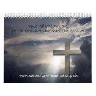 Power von einem Ministrie… Wandkalender