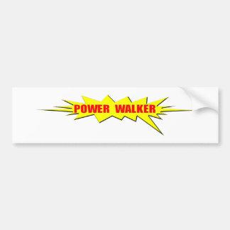 Power-Wanderer Autoaufkleber
