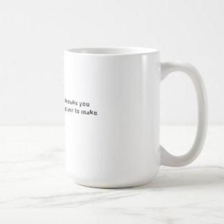 Power-Zitat Voltaire Kaffeetasse