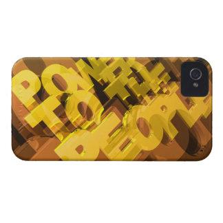 Power zu den Leuten iPhone 4 Hüllen
