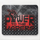 Power zum Vapers Mousepad