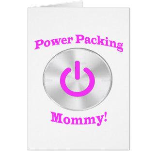PowerpackingMommy-Rosa Karte