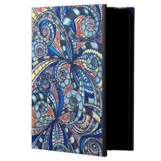 Powis iCase iPad Air ケース das BlumenZentangle