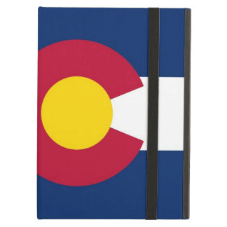 Powis Ipad Fall mit Colorado-Staats-Flagge, USA