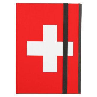 Powis Ipad Fall mit Flagge von der Schweiz