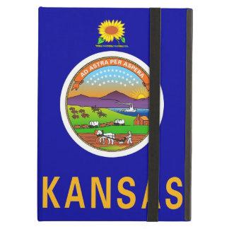 Powis Ipad Fall mit Kansas-Staats-Flagge, USA