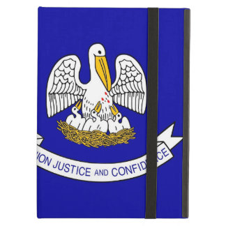 Powis Ipad Fall mit Louisiana-Staats-Flagge, USA