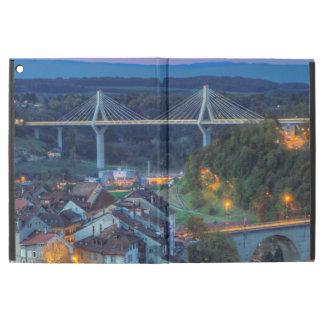 Poya und Zaehringen Brücke, Fribourg, die Schweiz