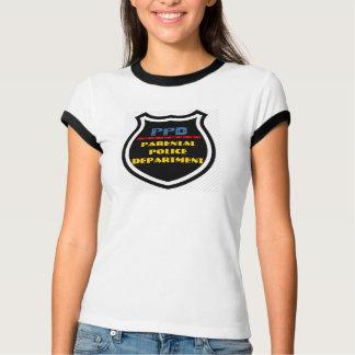 PPD - Elterlicher Polizei-Abteilungs-Abzeichen-T - T-Shirt
