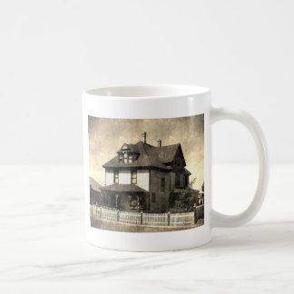 Prächtiges antikes Haus Kaffeetasse