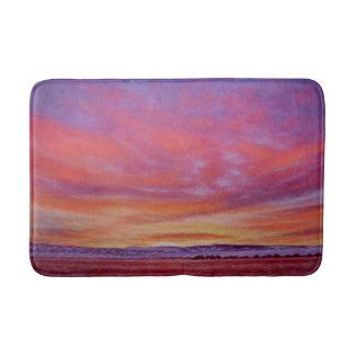 Prachtvolle Sonnenaufgang-Bad-Matte Badematte