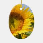 Prachtvolle Sonnenblumen! Keramik Ornament