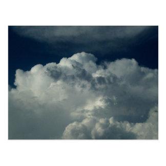 Prachtvolle Wolken Postkarte