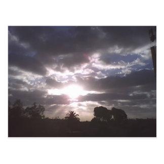 Prachtvoller Himmel Postkarte