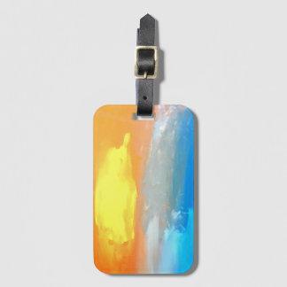 Prachtvoller Morgen-Gepäckanhänger Gepäckanhänger