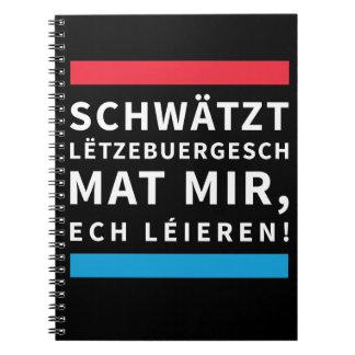 Practise Luxembourgish Note Pad Notizblock