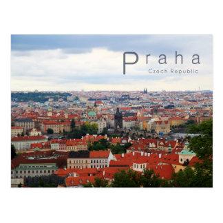 Prag 001, tschechisches Foto Postkarte
