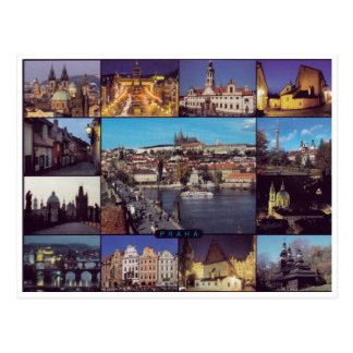 Prag #7 - Postkarte