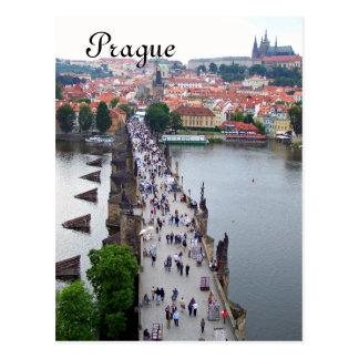 Prag-Ansicht Postkarte