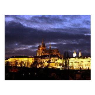 Prag bei Nacht Postkarten