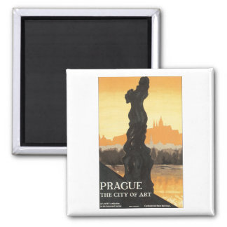 Prag, die Stadt der Kunst Quadratischer Magnet