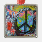 Prag-Graffiti Silbernes Ornament