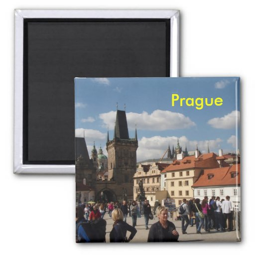 Prag-Kühlschrankmagnet