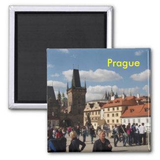 Prag-Kühlschrankmagnet Quadratischer Magnet
