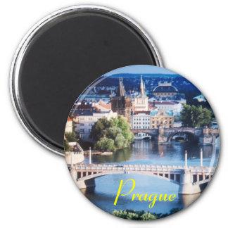 Prag-Magnet Runder Magnet 5,7 Cm