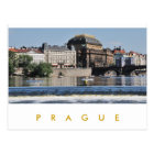 Prag - Nationaltheater Postkarte
