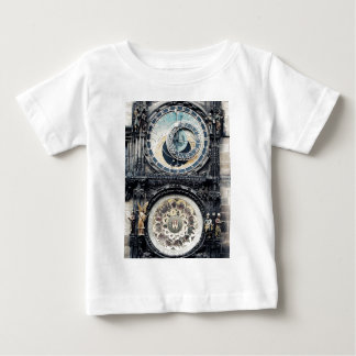 Prag Orloj Baby T-shirt