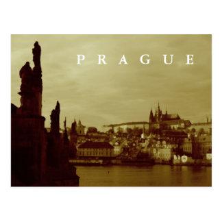 Prag Postkarte