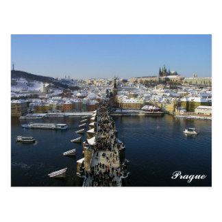 Prag-Postkarte Postkarte