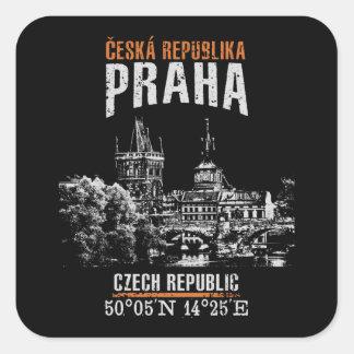 Prag Quadratischer Aufkleber
