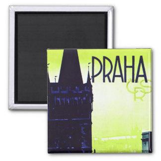 Prag Quadratischer Magnet