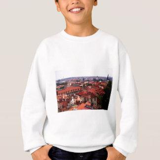 Prag-Rot-Dächer Sweatshirt