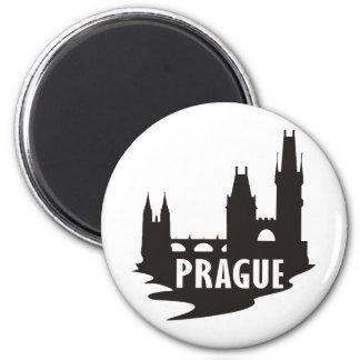 Prag Runder Magnet 5,7 Cm