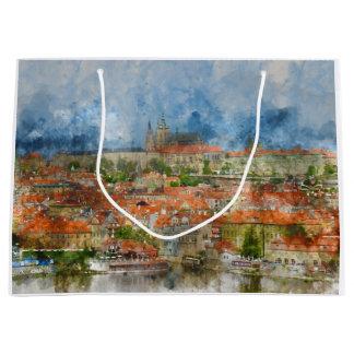 Prag-Schloss in Tschechischer Republik Prags Große Geschenktüte